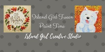 Tween Paint at Island Girl Creative Studio