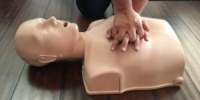 CPR/AED/First Aid Red Cross Certification Class