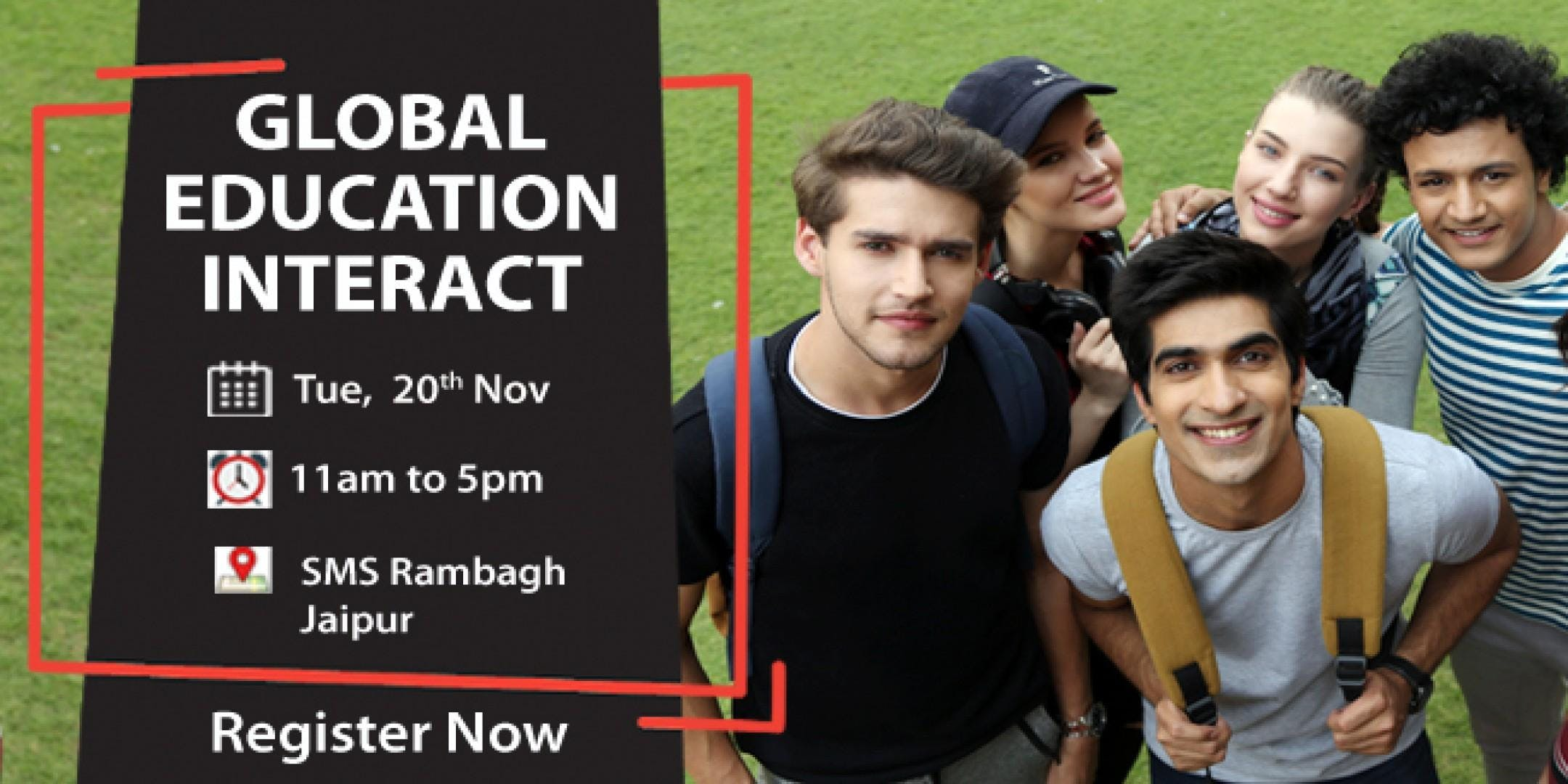 Global Education Fair 2018 in Jaipur - Free R