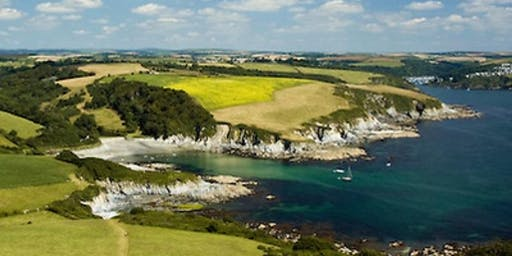 Guided Hike (4.5 hours) : South West Coast Path, Polkerris & Fowey Cornwall