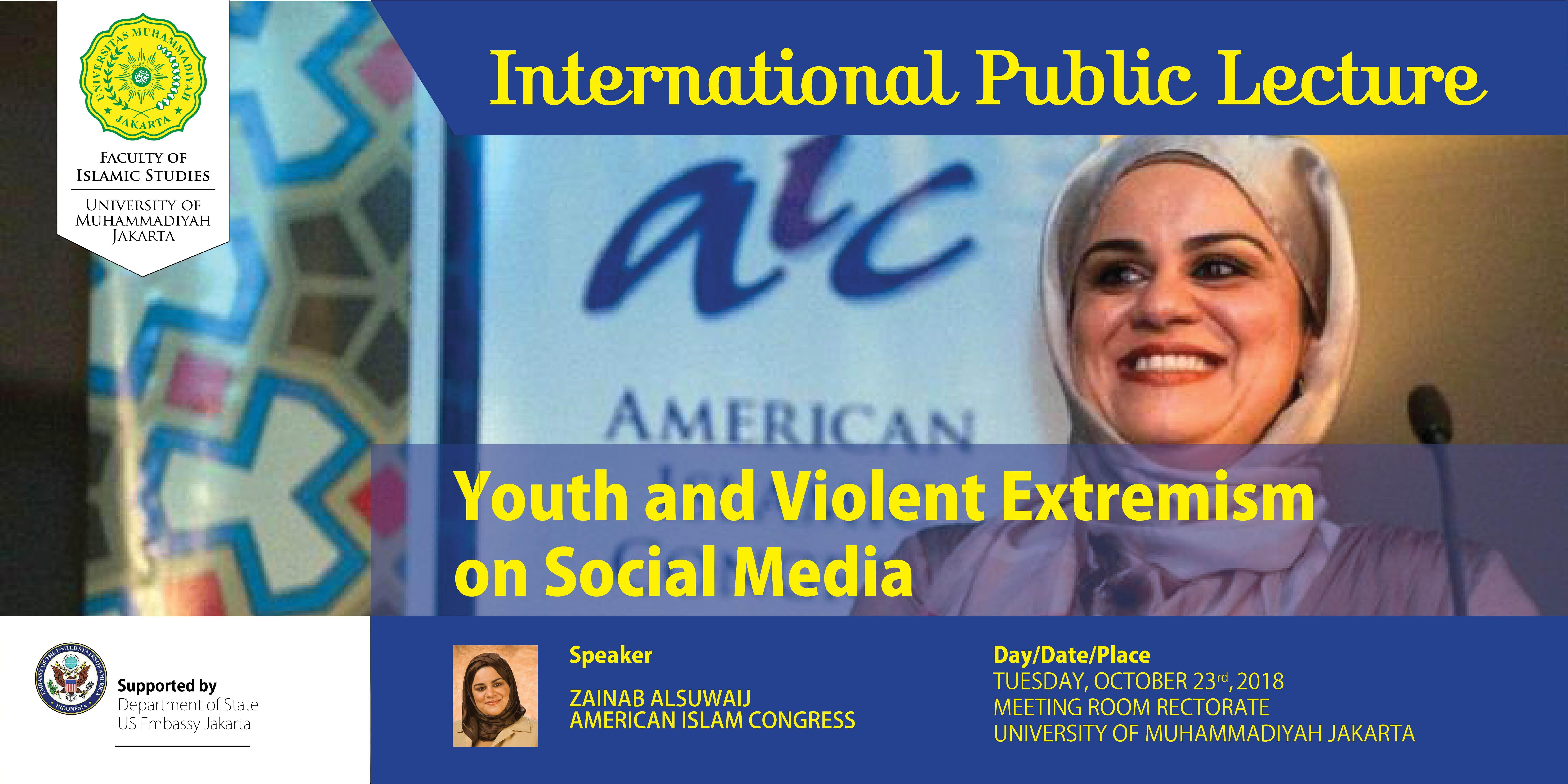 """International Public Lecture """"Youth and Viole"""