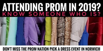 Prom Nation Pick a Dress Event