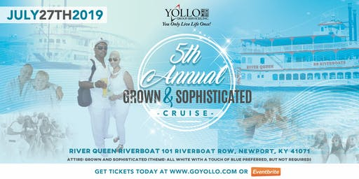 Grown and Sophisticated All White Cruise 2019 Cincinnati Music Festival Weekend
