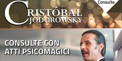 """Cristobal Jodorowsky """"Consulte personali con atti psicomagici"""""""