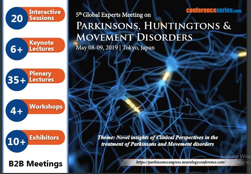 5th Global Experts Meeting on Parkinsons, Hu