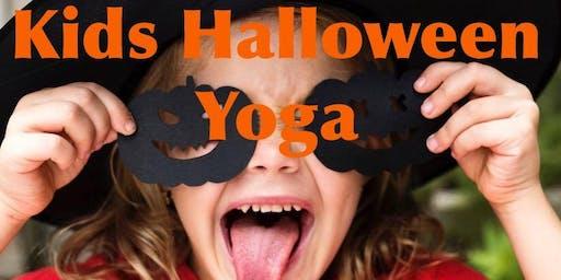 Kids Halloween Yoga 2019