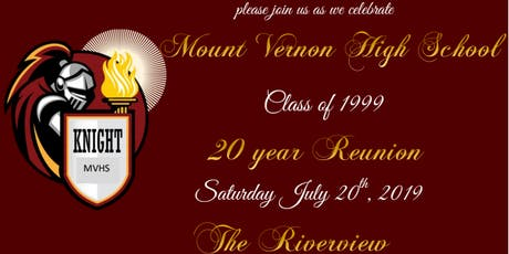 MVHS Class Of 1999 Reunion tickets