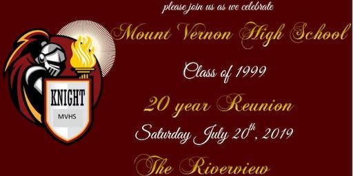 MVHS Class Of 1999 Reunion