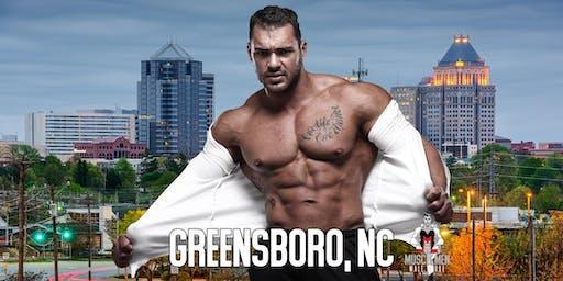 Muscle Men Male Strippers Revue Show & Male Strip Club Shows Greensboro NC 8pm-10pm