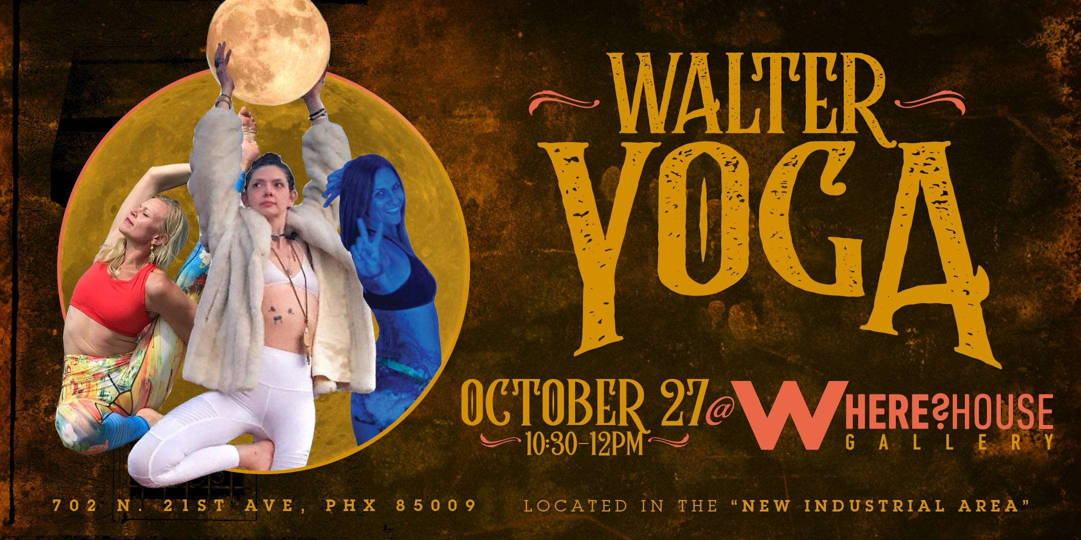 Walter Yoga at The Where?House