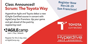 Certified Scrum: The Toyota Way 2-Day Course