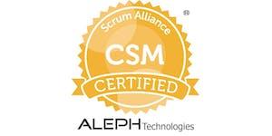 Certified Scrum Master® Workshop (CSM®) – Austin, Texas