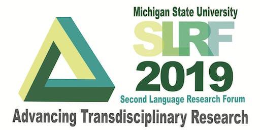 Second Language Research Forum (SLRF) 2019 at Michigan State University