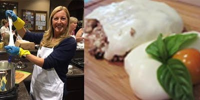 MOZZARELLA & BURRATA CHEESE MAKING CLASS - Make 2 cheeses in 2 hours
