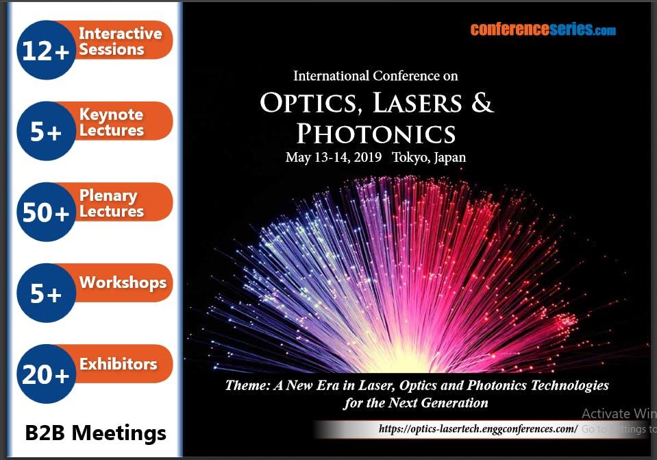 13th International Conference on Optics, Las