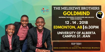 The Melisizwe Brothers: Discover the Gold that you have within(Edmonton, AB)