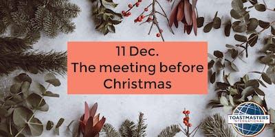 Public Speaking: ultimo incontro prima di Natale