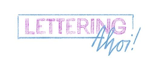 Lettering Ahoi!