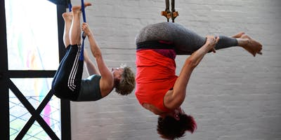 Intro to Aerial Yoga Course Intensive over 3 Sundays