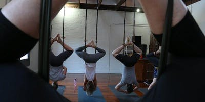 Intro to Aerial Yoga 5 Week Wednesday Evening Course