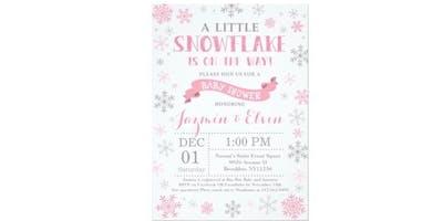 Jazmin & Elvin's Winter Wonderland Babyshower