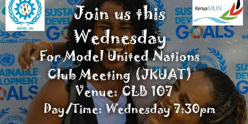 Model United Nations Club Meeting (JKUAT)