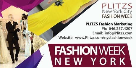 VOLUNTEERS FOR NY FASHION WEEK SHOWS - Needed for Designer Showcases - SHOW DAY VOLUNTEER tickets
