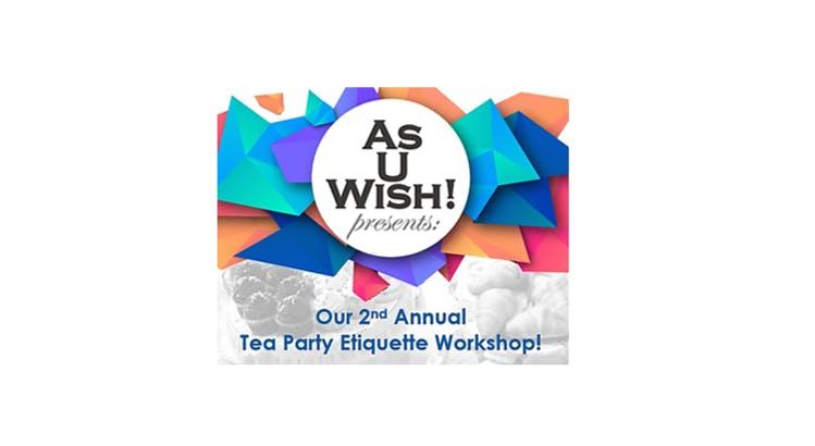 LLC Presents Childrens Tea Party Etiquette Workshop Ages 9 12