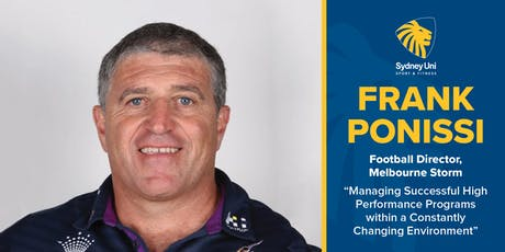 Frank Ponissi Seminar tickets