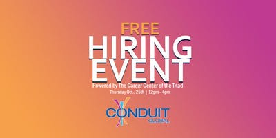 Conduit Global Free Hiring Event And Fall Festival