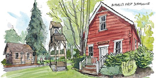 Urban sketching weekend in Bothell, WA with Gabi Campanario