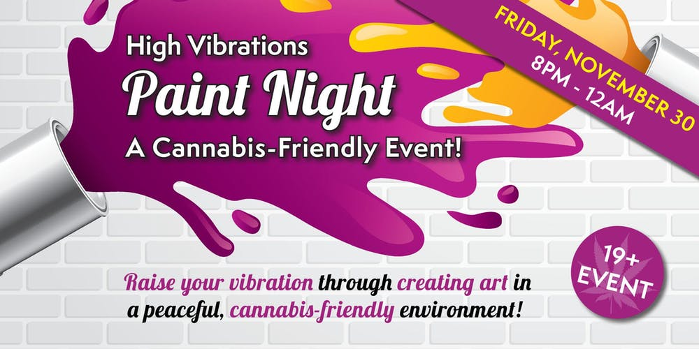 Image result for Puff and Paint Night Canada