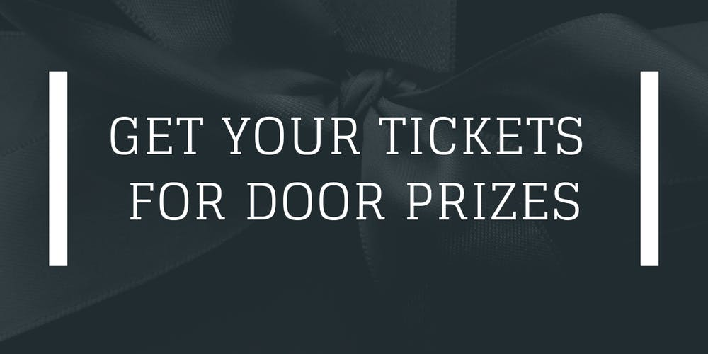 raffle ticket for door prizes tickets sun oct 21 2018 at 9 00 pm