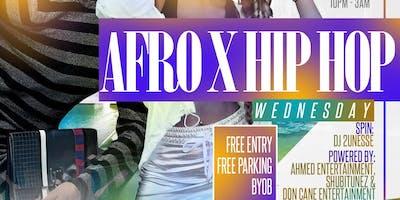AFRO X HIP HOP||ATLANTA's #1 WEDNESDAY SPOT||Infusion Hookah