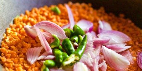 Sri Lankan vegan cooking workshop tickets
