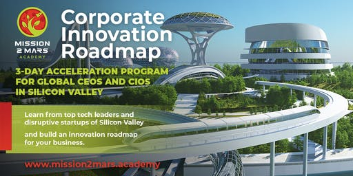 Corporate Innovation Roadmap (3-Day Program in Silicon Valley)