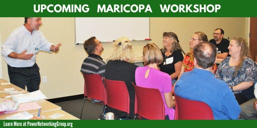 8/22/19 - PNG - Maricopa - Tammy Adams –Know Your Business Numbers: Grow Your Sales & Profits