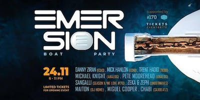 emersion Boat Party - #170 + Echo Nights