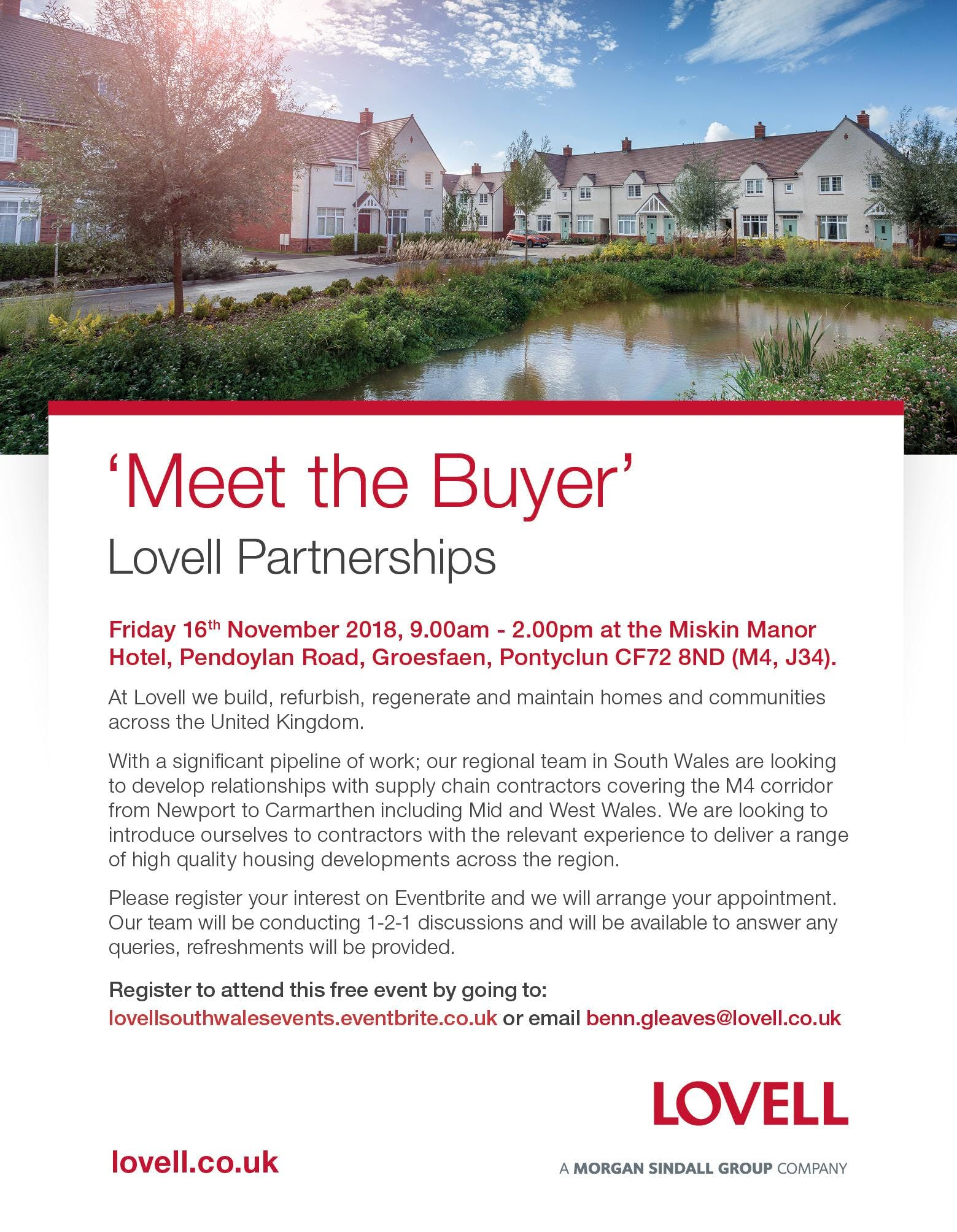 Lovell Partnerships Limited Meet the Buyer So