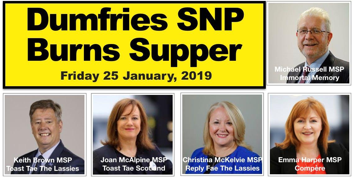 Dumfries SNP Burns Supper