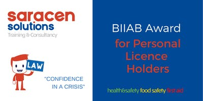 BIIAB Award in Personal Licence Holders