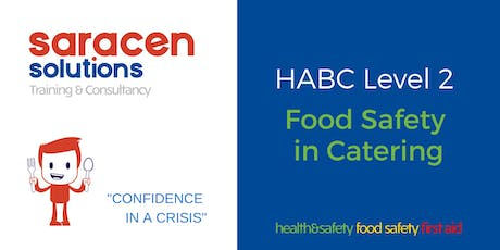 Food Safety in Catering Level 2  tickets