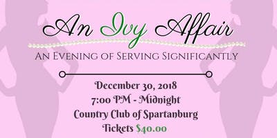 An Ivy Affair: An Evening of Serving Significantly