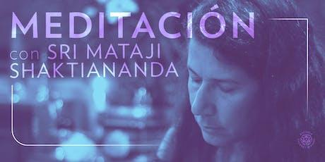 Meditaciones Guiadas por Mataji Shaktiananda | Contactos Maestros entradas