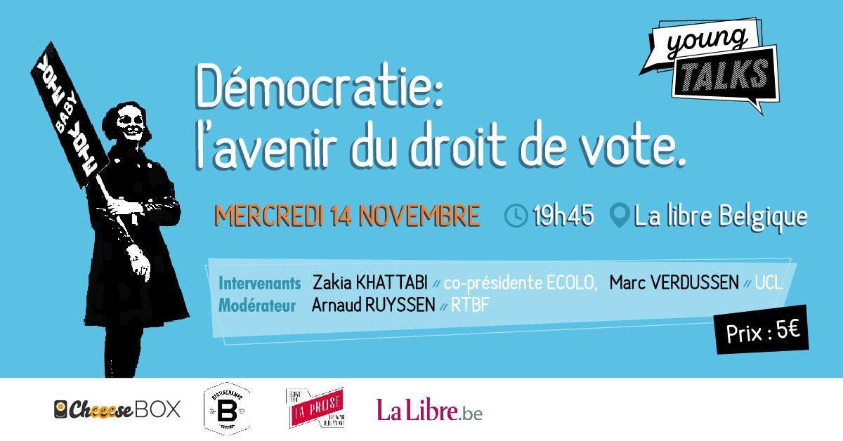 Démocratie: L'avenir du droit de vote / YT x