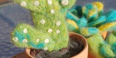 Needle Felting Workshop-Cactus