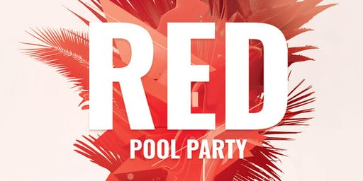 Red Pool Party