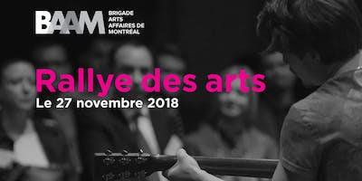 Le Rallye des arts BAAM 2018
