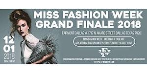 Miss Fashion Week Grand Finale 2018