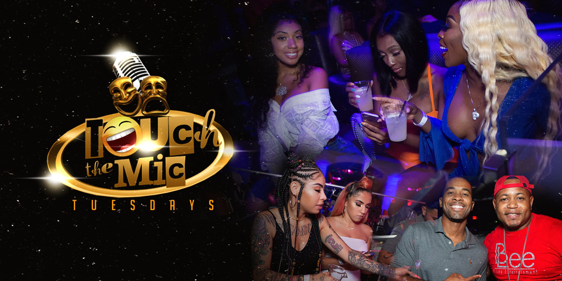 Touch The Mic Tuesdays Karaoke Party  + Happy Hour After Dark